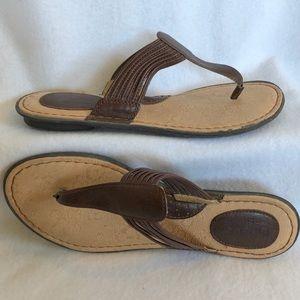 b.o.c Vegan Leather Flip Flop Sandals